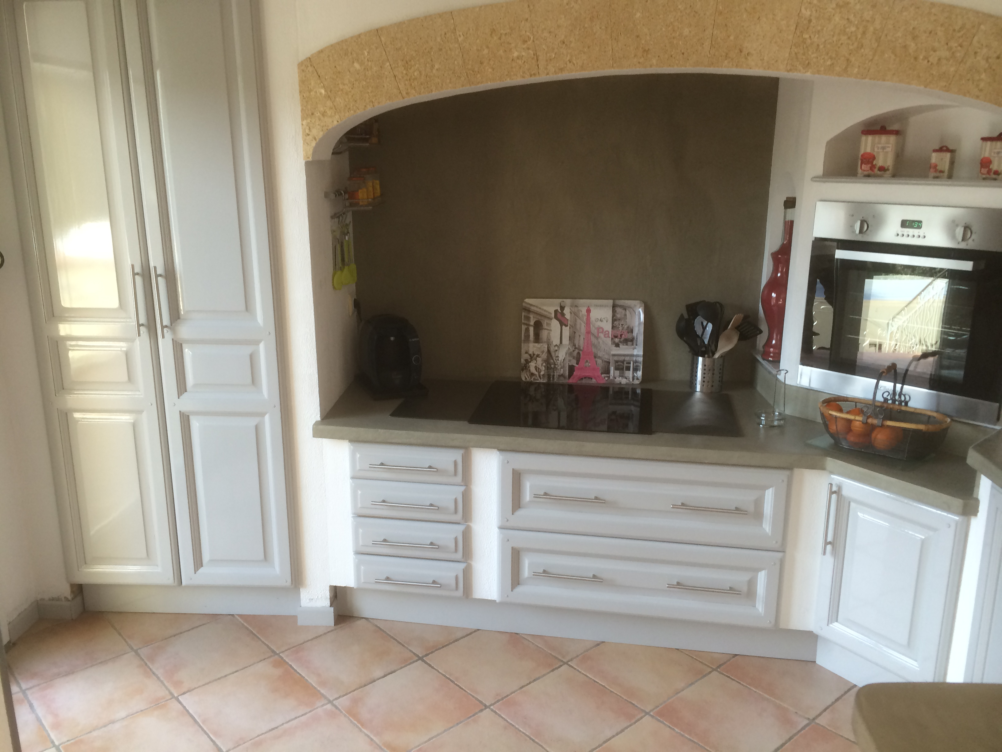 moderniser une cuisine en ch ne. Black Bedroom Furniture Sets. Home Design Ideas