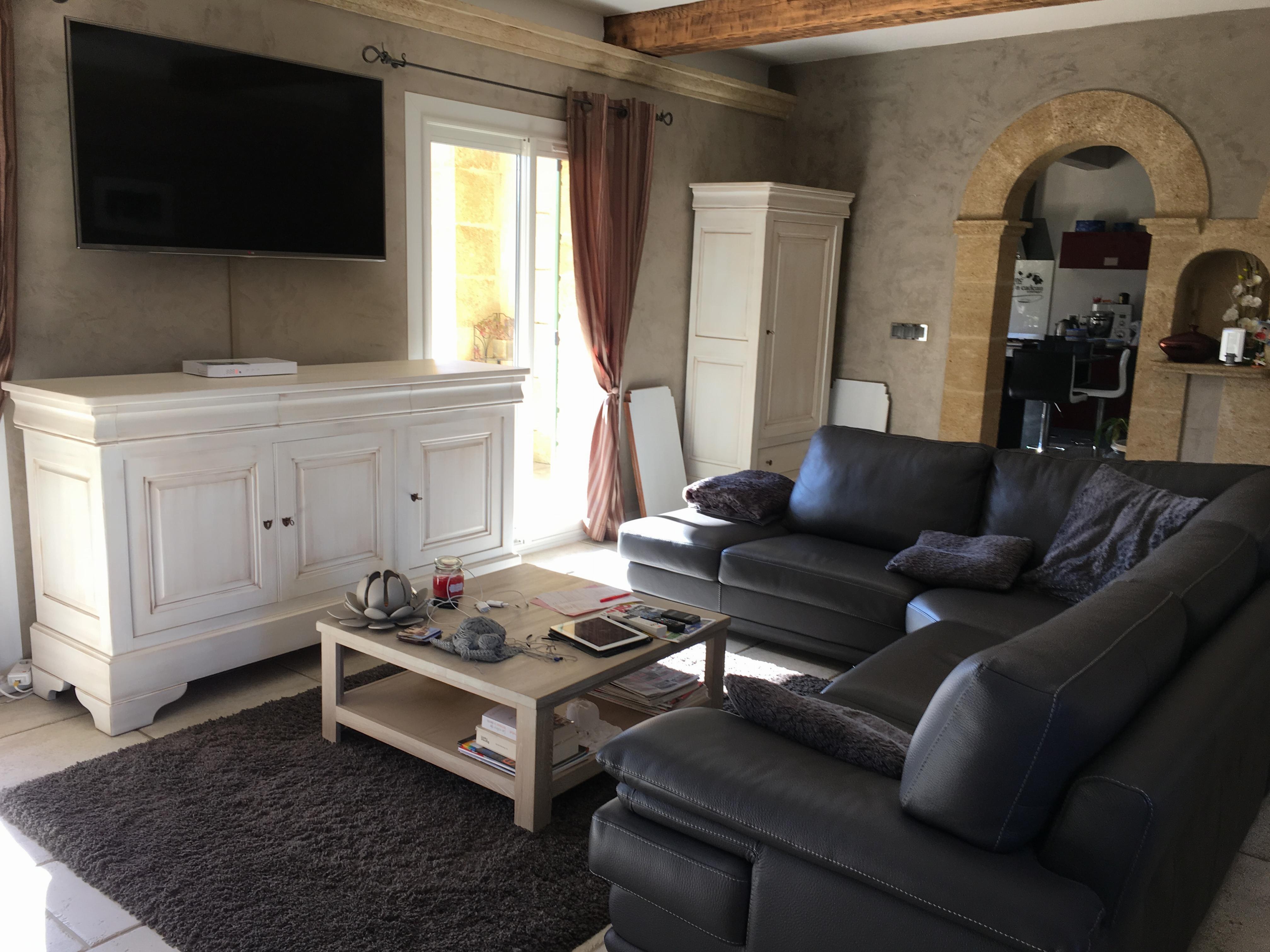 r alisations relooking du coin salon mallemort. Black Bedroom Furniture Sets. Home Design Ideas
