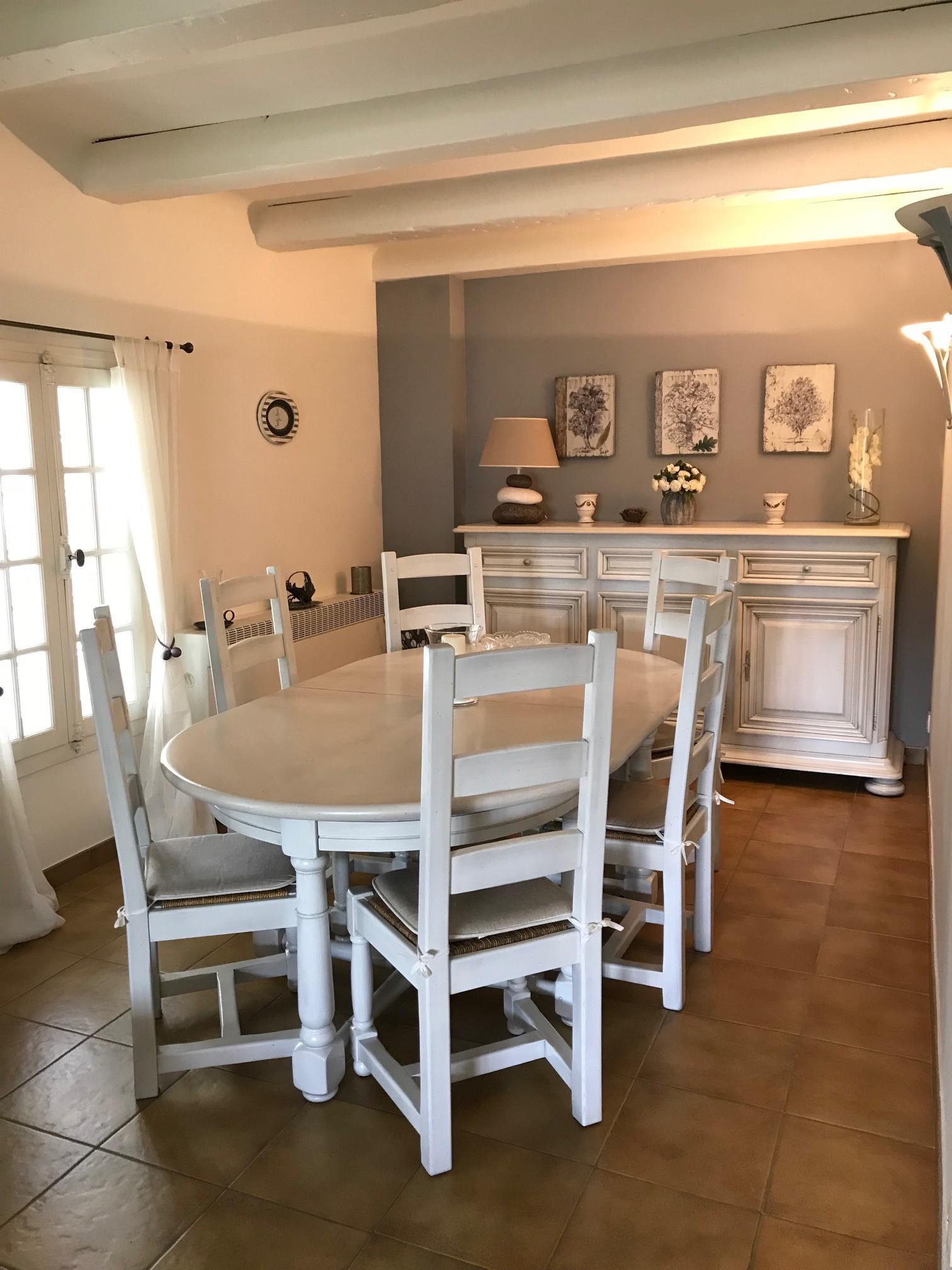 Realisations Relooking Meubles De Salle A Manger En Blanc