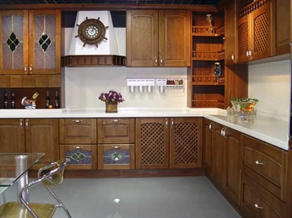 R alisations comment relooker une cuisine en ch ne la - Renover une cuisine en chene massif ...